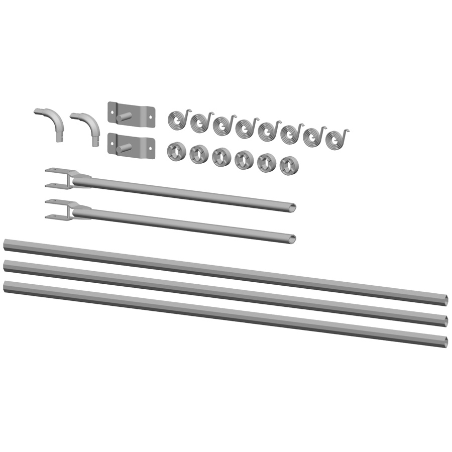 Buyers 3016666 Universal 4 Spring Aluminum Tarp Arm Kit