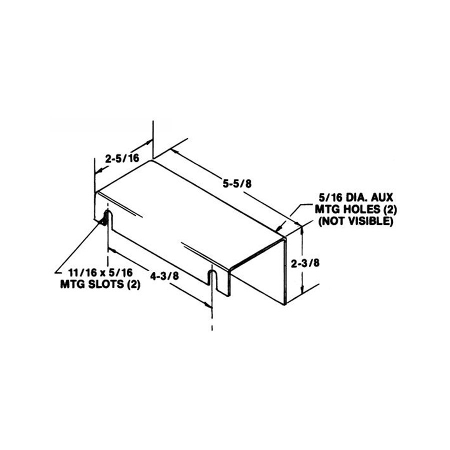 Buyers ACC01 Accessory Plate for Spreader Valves ($9.86)
