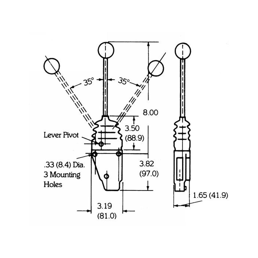 Buyers B206301001 Single-Axis Remote Valve Control with
