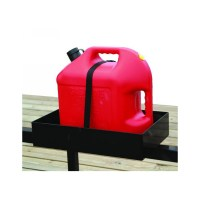Buyers LT30 Trailer Gas Can Rack for One 5 Gallon or Two 2