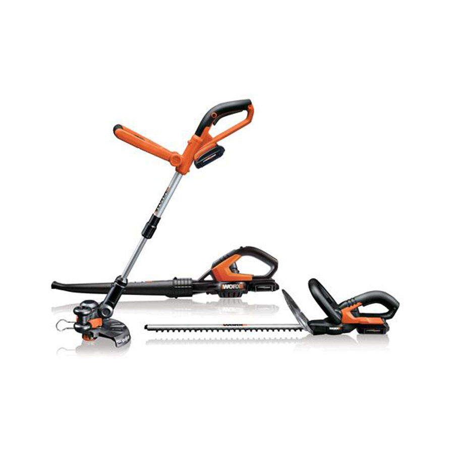 Worx WG913.51 Worx 18V Li-Ion Combo Kit (Includes Grass
