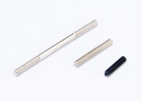 Traxxas Threaded rods (20/25/44mm 1 ea.)/ (1) 12mm set