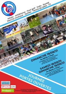 Read more about the article Journées Portes Ouvertes au RCS Omnisport les 18 et 19 septembre 2021