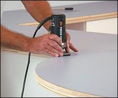 Cutting Formica Countertop Sheets