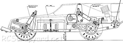 Hirobo Bluebird TurboSSS-S • (Radio Controlled Model