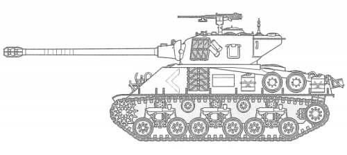 23679 • Tamiya Super Sherman M-51 105mm • (Radio