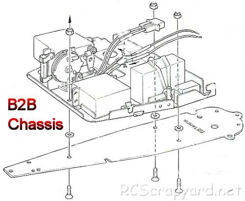Tamiya B2B Chassis • (Radio Controlled Model Archive