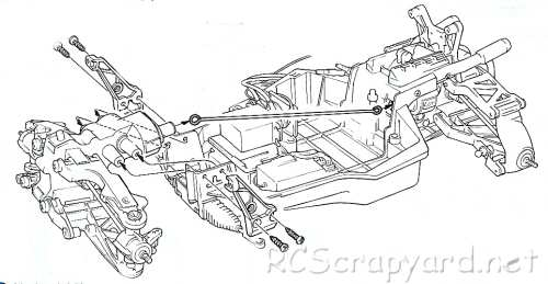 Tamiya Bigwig (BW) Chassis • (Radio Controlled Model