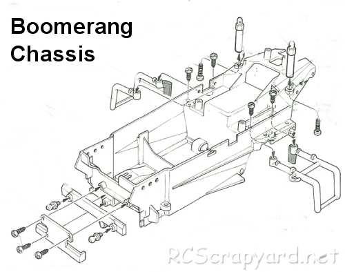 Tamiya Boomerang (BMR) Chassis • (Radio Controlled Model