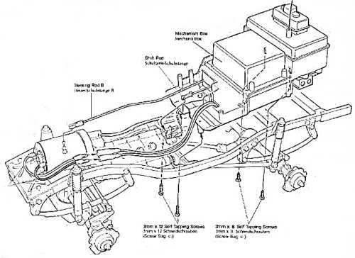 Tamiya Bruiser (BR) Chassis • (Radio Controlled Model