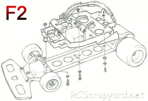 Tamiya F2 / F2-CS Chassis • (Radio Controlled Model