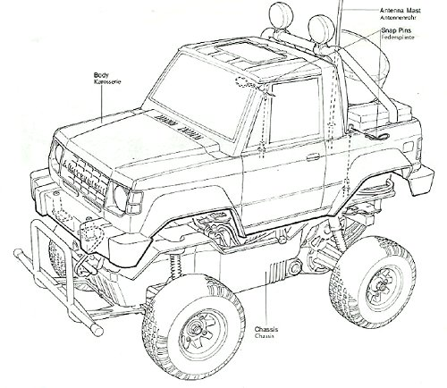 58044 • Tamiya Mitsubishi Pajero • (Radio Controlled Model