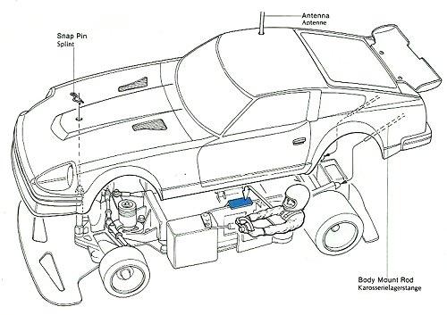 58022 • Tamiya Datsun 280ZX (RM Mk-2) • (Radio Controlled