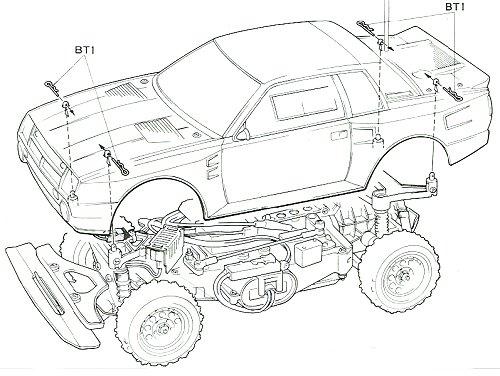 58064 • Tamiya Toyota Celica Gr.B Rally Special