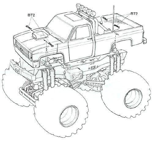 58065 • Tamiya Clod Buster • (Radio Controlled Model