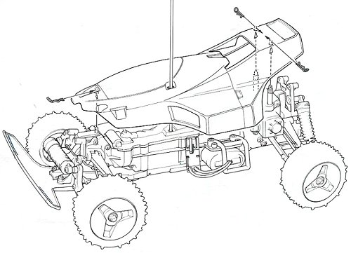 58067 • Tamiya Thunder Shot • (Radio Controlled Model
