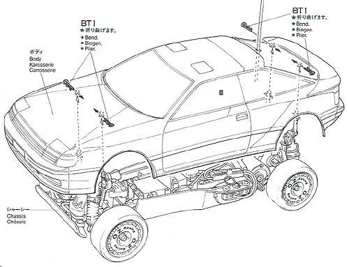 58096 • Tamiya Toyota Celica GT-Four Rally • TA-01