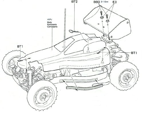 58097 • Tamiya Super Astute • (Radio Controlled Model