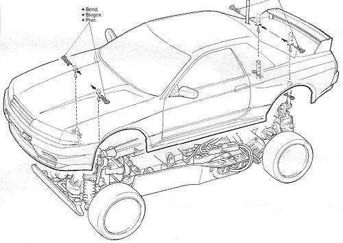58099 • Tamiya Nissan Skyline GT-R Nismo • TA-01 • (Radio
