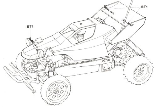 58124 • Tamiya Super Hornet • (Radio Controlled Model