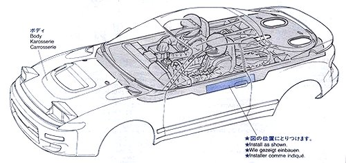58129 • Tamiya Castrol Celica 93 Monte-Carlo • TA-02