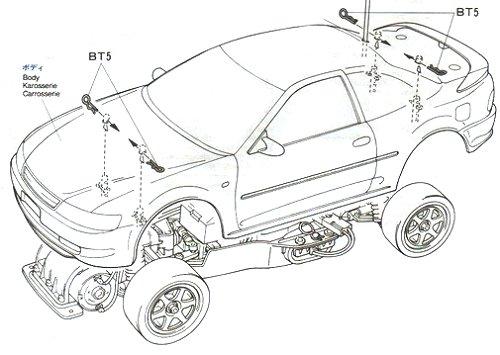 58131 • Tamiya Toyota Toms Levin • FF-01 • (Radio