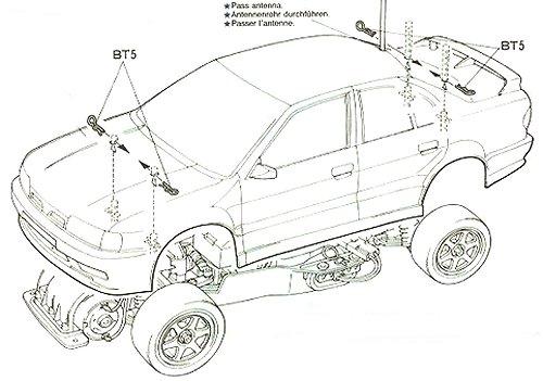 58147 • Tamiya Castrol Nissan Primera JTCC • FF-01