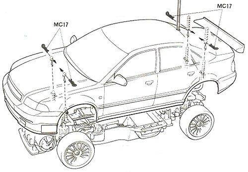 58182 • Tamiya Audi A4 STW • TA-03F • (Radio Controlled