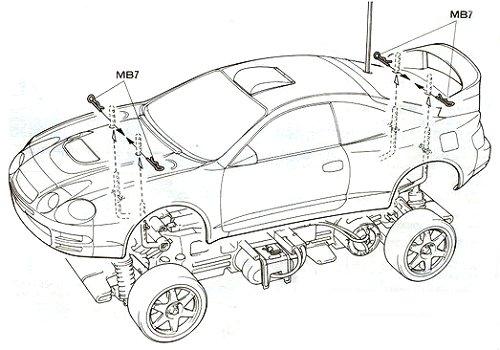 58201 • Tamiya Toyota Celica GT-Four 97 Monte Carlo • TL