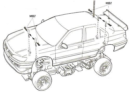 58212 • Tamiya Peugeot 406 ST • TL-01 • (Archive de
