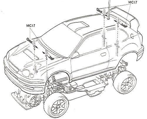 58218 • Tamiya Toyota Corolla WRC • TA-03FS • RCScrapyard