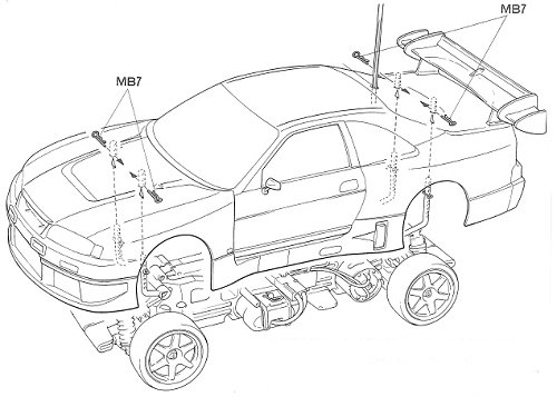 Nissan 350z Nismo V3 Body Kit