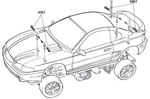 58228 • Tamiya Ford Mustang Cobra-R • TL-01 • RCScrapyard