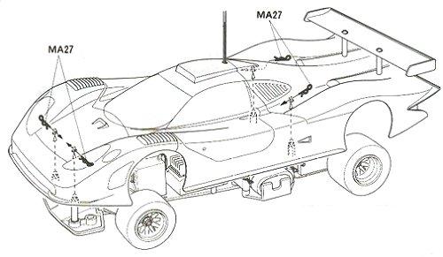 58230 • Tamiya Porsche 911 GT1 98 LM Winner • F103RS