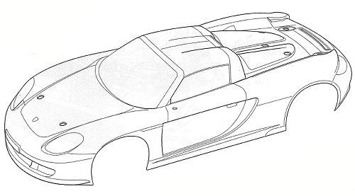 58322 • Tamiya Porsche Carrera GT • TB-02 • (Radio