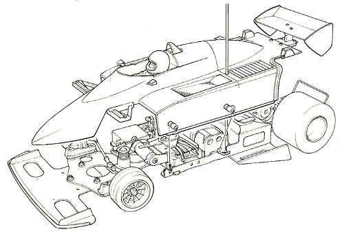 58031 • Tamiya Brabham BT50 BMW Turbo • (Radio Controlled