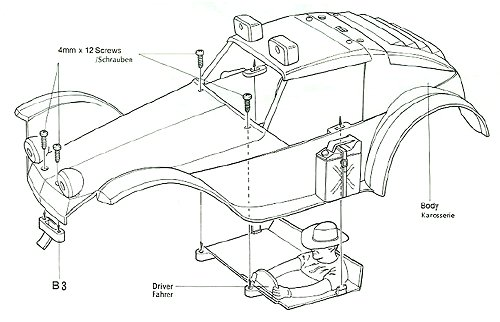 58023 • Tamiya Holiday Buggy • (Radio Controlled Model