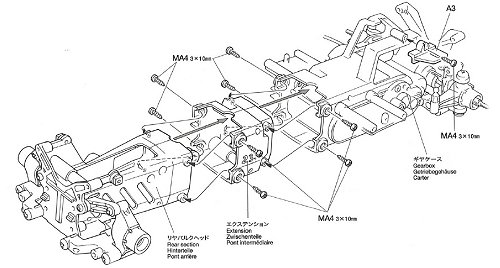Tamiya M03L Chassis • (Radio Controlled Model Archive
