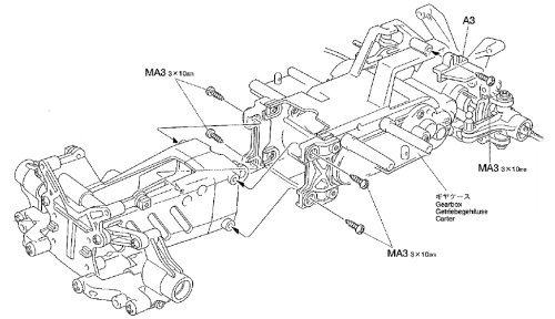 Tamiya M03M Chassis • (Radio Controlled Model Archive