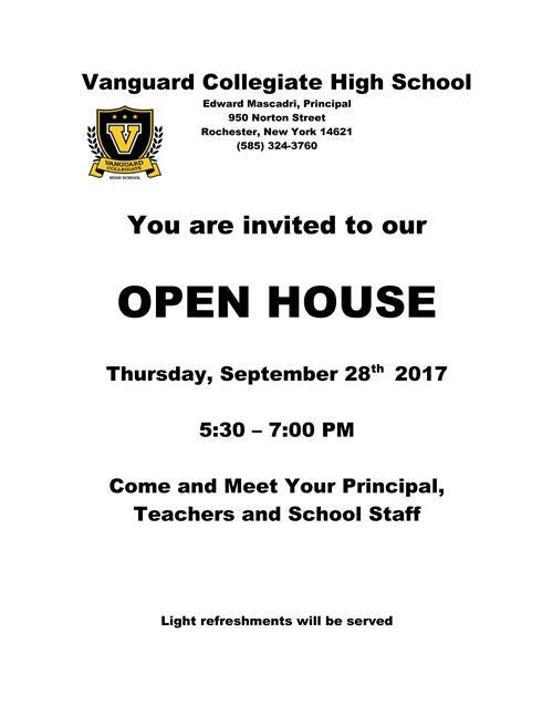 Vanguard Collegiate High School / Overview