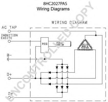 Prestolite Distributor Wiring Diagram, Prestolite, Free