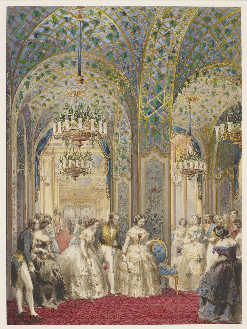 Rcin 920086 - Entrance Galerie Des Glaces