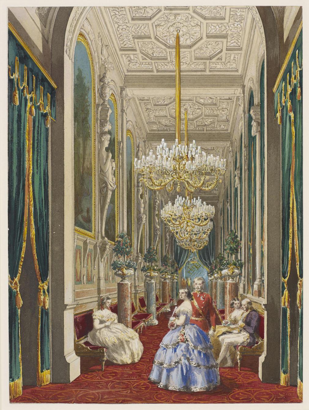 Rcin 920085 - Galerie Des Paysages Du Partement