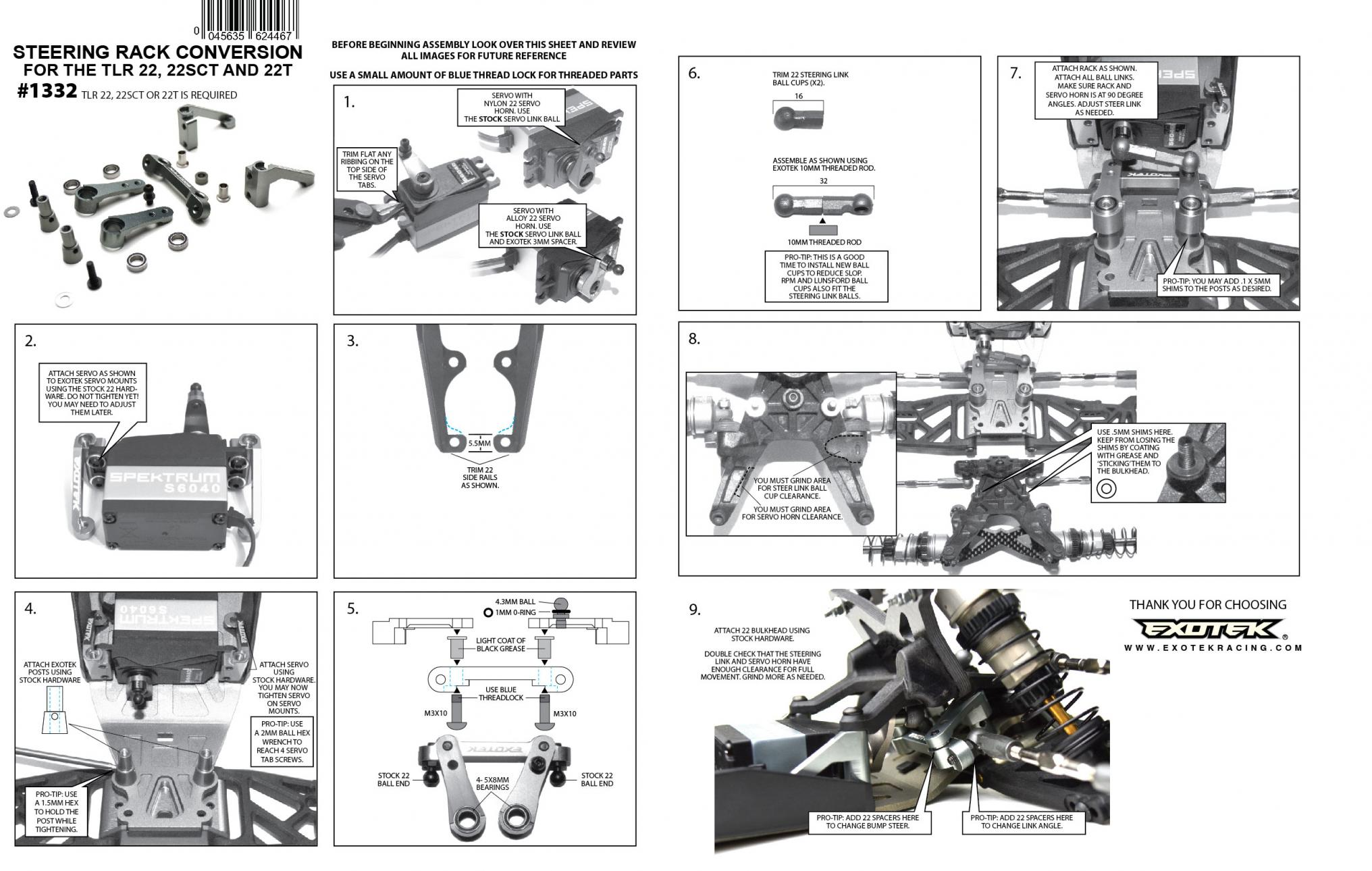 Tlr 22 2 0 Race Kit 1 10 2wd Buggy Thread