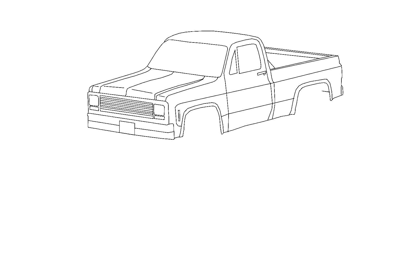 Chevy C10 Decals