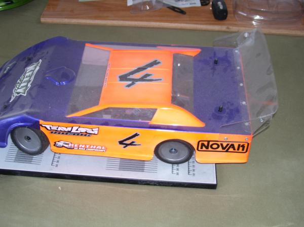 Late Model Dirt Oval RC Cars