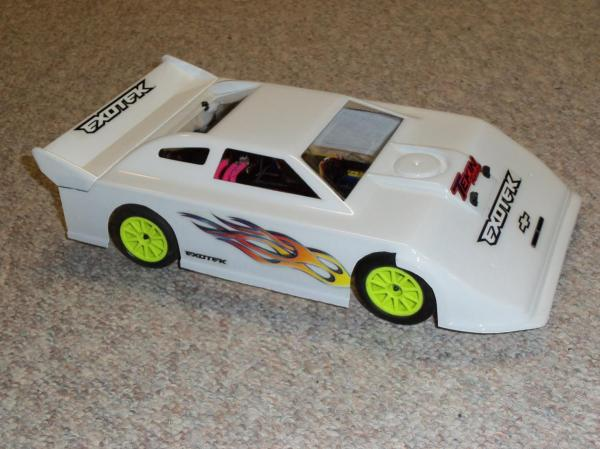 RC Dirt Oval Late Model