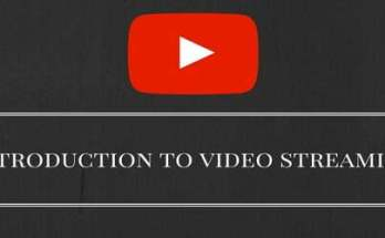 Introduction to video streaming