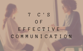 7 Cs of effective communication