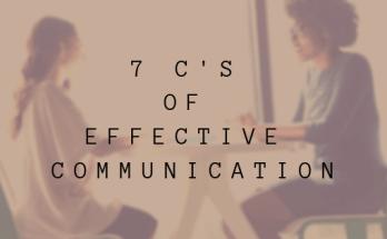 7 Cs of effective communication